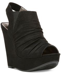 bb4bd765df3f Carlos by Carlos Santana Britton Platform Wedge Sandals   Reviews - Sandals    Flip Flops - Shoes - Macy s