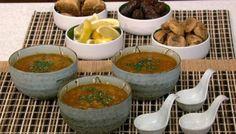 Moroccan Harira Red Lentil Soup | The Splendid Table