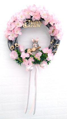 Floral Wreath, Easter, Wreaths, Boho, Decor, Floral Crown, Decoration, Door Wreaths, Easter Activities
