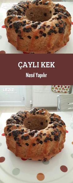 How to Make Tea Cake - Kuchen Rezepte Chocolate Brownies, Chocolate Chip Cookies, Blueberry Muffin Cake, Orange Chiffon Cake, A Food, Food And Drink, How To Make Tea, Turkish Recipes, Tea Cakes