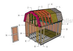 This step by step diy woodworking project is about how to build a shed ramp. If you want to learn more about building a shed ramp, we recommend you to pay attention to the instructions described in the article. 10x10 Shed Plans, Wood Shed Plans, Diy Shed Plans, Barn Plans, Building A Storage Shed, Shed Building Plans, Shed Storage, Firewood Storage, Generator Shed