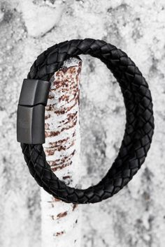 Every man needs to own this edgy bracelet by Vitaly.