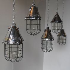 big space industrial pendant light #18517