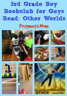 Guys Read Other Worlds 3rd grade book club for boys