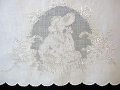 Appenzell Tray Cloth c1900 | French Country Decorating | Pinterest