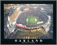 O.co Coliseum in Oakland, home of the Oakland Raiders and Oakland A's