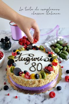 Almond Paste Cookies, Mole, Cake Designs, Biscotti, Cake Recipes, Cheesecake, Food And Drink, Birthday Cake, Sweets