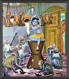 Krishna Lila, Little Krishna, Bal Krishna, Krishna Statue, Radha Krishna Images, Cute Krishna, Lord Krishna Images, Radha Krishna Love, Krishna Pictures