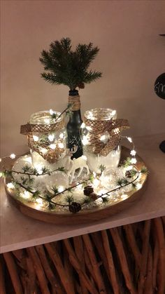 Cheap and Easy Christmas Centerpiece Ideas that you can Make in a Jiff - Hike n Dip White Christmas Ornaments, Cheap Christmas, Diy Christmas Tree, Rustic Christmas, Simple Christmas, Vintage Christmas, Amazon Christmas, Elegant Christmas Centerpieces, Winter Centerpieces