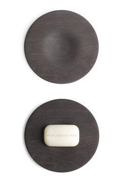 Black Ebony Soap Dish by John Pawson - Whenobjectswork - Available on designobjectshop.com