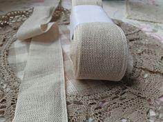 Linen woven tape linen hit Tape, Lens, Klance, Lentils, Band, Ice