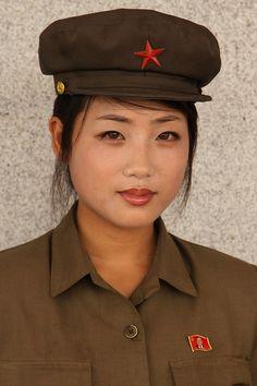 North Korean guide.
