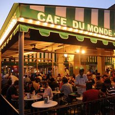 Cafe Du Monde, New Orleans, is more about the beignets than the coffee with me. Also, chicory ruins good coffee IMO. The coffee is just alright there. Granted, I am usually there, at three a.m., after a night full of Old Fashioneds and Sazeracs. That being said, it is an institution in the French Quarter and can't be missed for the piled high powdered sugar mounds on the beignets alone.