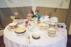 Handmade DIY vintage inspired village hall wedding