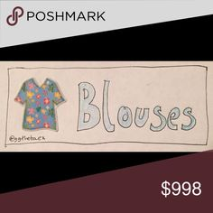 Blouses Welcome to my section of blouses. Make an offer on anything you like; everything comes with a free gift 🎁. If you would like to purchase all of the available items in this section, feel free to make an offer directly on this post! H&M Tops Blouses