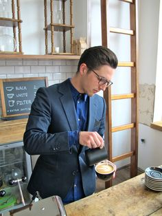 Florian Hessel is the head barista at Lot Sixty One Coffee Roasters and helps coffee lovers from near and far to get their daily caffeine fix. He loves drinking a delicious drip. Get to know him in the new baristas guide on The Coffeevine.