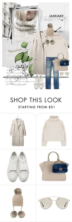 """""""Beautiful soul....."""" by pam0713 ❤ liked on Polyvore featuring Boutique, Acne Studios, Fendi, Inverni, Christian Dior, sweaterweather and polyvoreeditorial"""