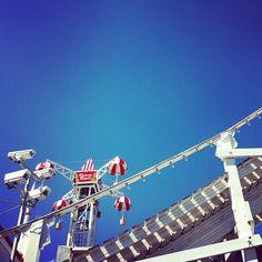 Coney Island Rides @ Luna park , St Kilda.