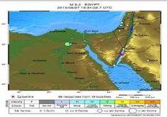 خريطة توضح المحافظات والمناطق التي تأثرت بزلزال خل