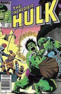 The Incredible Hulk Comic 303 Copper Age First Print 1985 Mantlo Buscema Talaoc