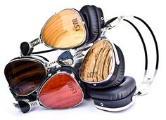 Headphones: O puro som da madeira - High-Tech Girl