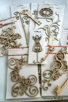 Tutorial #8: Making Mould and Embossing with Wood Flourishes - by Verusca Walker @ CakesDecor.com - cake decorating website