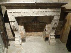 19th Century Italian Fireplace #renaissancelondon