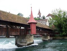 Spreurbrucke, Lucerne, Switzerland by David, via Flickr