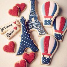 hotair balloon cookies
