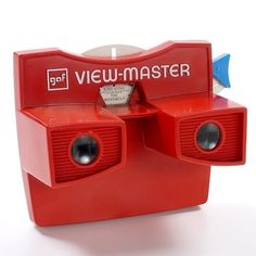 No matter your age, there's a good chance that a View-Master was lying around either your bedroom or a friend's. The iconic red goggles are the perfect childhood diversion—cheap and briefly amusing. They also have a long history.