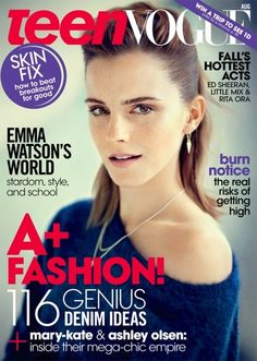 Emma Watson Gets Edgy In The August Issue Of Teen Vogue