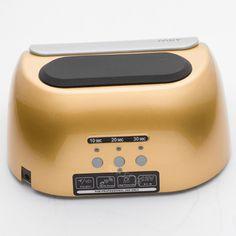 ซื้อ ขาย ดีลสุดพิเศษ ช่วงนี้เท่านั้น Professional Nail Dryer CCFL with LED Lamp Automatic 48W Curing for UV Gel Nail Polish US Plug (Gold) ราคาไม่แพง พร้อมส่ง เก็บเงินปลายทาง