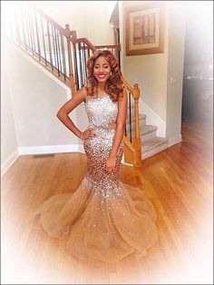 Gorgeous Sparkly Prom Dress