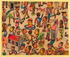 La revue Art Absolument - Les expositions : A vous de (re)faire l'histoire, Antonio Seguí