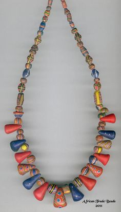 Antique Mauritanian Kiffa beads - Reference strands - from ATB