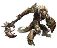Male lizard-like warrior Fantasy Races, Fantasy Rpg, Fantasy World, Character Portraits, Character Art, Character Design, Humanoid Creatures, Digital Art Gallery, Image Digital
