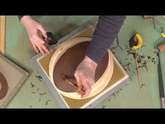 How to Make a Platter with a Simple Template | BIRDIE BOONE - YouTube