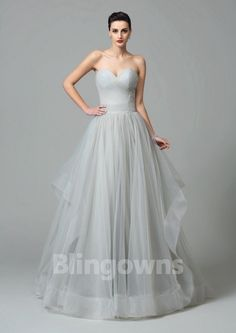Sweep Zipper Sweetheart Ball Gown Gray Ruched Tulle Sleeveless Evening / Prom Dresses