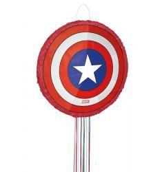 Pinata Captain América avec ficelles
