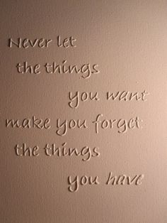 Inspirational 3D Quote on Canvas Want by SubtleWords on Etsy, $15.00