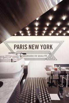 Paris New-York Restaurant, Paris, France by CUT Architectures