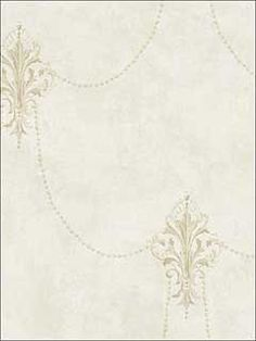 Beaded Fleur di lis Soft Neutral Wallpaper by Regency Wallpaper. 50 Year Anniversary Sale - Up to off everything extended through June Neutral Wallpaper, Go Wallpaper, Pattern Wallpaper, Anniversary Sale, Textured Background, Regency, Color Patterns, Larger