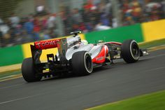 Round 1, Rolex Australian Grand Prix 2013, Race, Sergio Perez, Vodafone McLaren Mercedes, On Track Action
