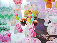 Festa infantil - My Little Pony ~ Fofuras de Papel