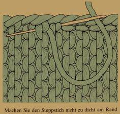 |Seppstich- Zusammennähen von Strickarbeiten mit drei Möglichkeiten