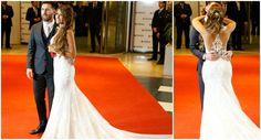 Los detalles del vestido de novia de Antonella Roccuzzo