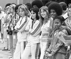 """If I wasn't singing I'd probably be an accountant"" - #JanetJackson turns 51 today May 16th. #Happybirthday!  Here's a #classic photo of a young and #cute #11yo Janet with famous brother #MichaelJackson musicians #LeifGarrett and #JoanJett attending the First Annual Rock and Roll Celebrity Sports Classic on March 10 1977 at the University of California (#UCI) in Irvine CA  #janetdamitajojackson #janetnation #singer #newmom #songwriter #janetjacksonteam #queenofpop #iconic #popqueen #jacksons…"