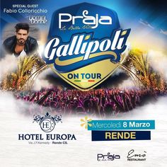 Serata di #fabiocolloricchio all'hotel Europa a Rende mercoledì 8 marzo.  ________________________________ #fashion #ued #uominiedonne #danieledefalcomanagement #tronoclassico