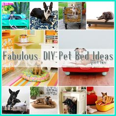 The Cottage Market: 25 Fabulous DIY Pet Bed Ideas ...part 2 ☀CQ #crafts Pinned 7/1/13