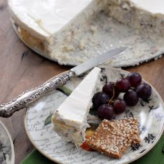 Savory Blue Cheese Cake An upscale, easy-to-prepare appetizer sure to be the hit of any party Gluten free.
